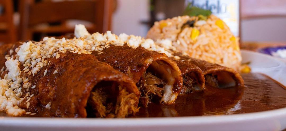 Enchiladas de Mole Original's Mexicano