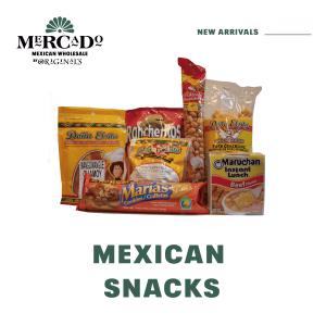 Mexican Snacks Mercado Wholesale